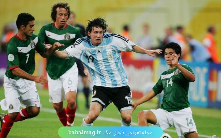 مسی در جام جهانی 2006