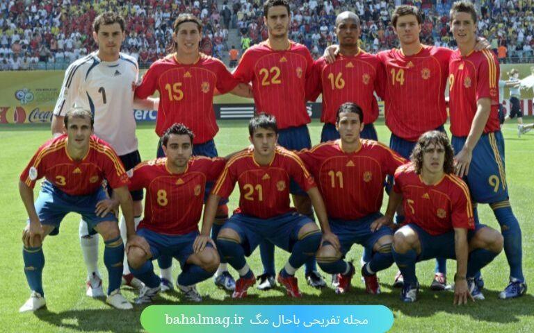ترکیب اسپانیا در 2006