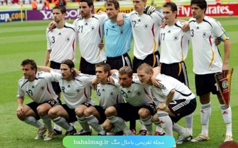 چینش آلمان 2006
