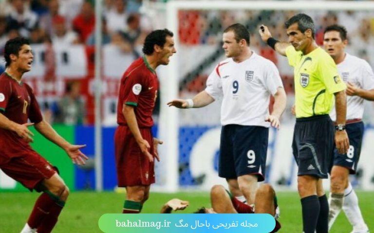 بازی پرتغال انگلیس در سال 2006