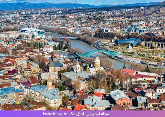 شهر دیدنی و زیبای تفلیس