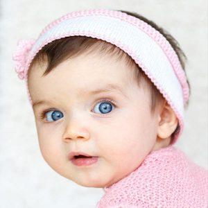 عکس پروفایل بچه چشم رنگی