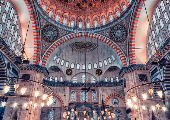 مسجد بسیار زیبا در استانبول