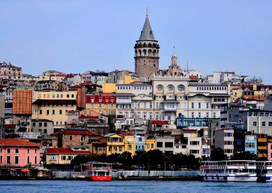 نمای زیبا از استانبول
