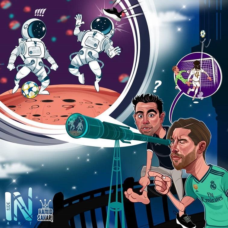 کاریکاتور دیدنی فوتبالی 2019