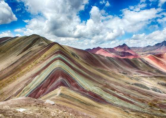 کوهستان رنگی