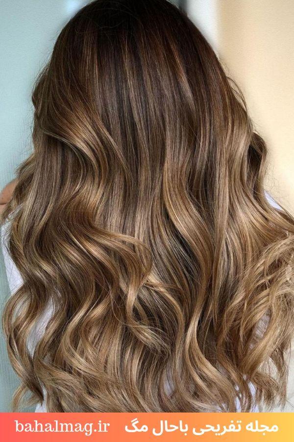 موی زنانه هایلایت