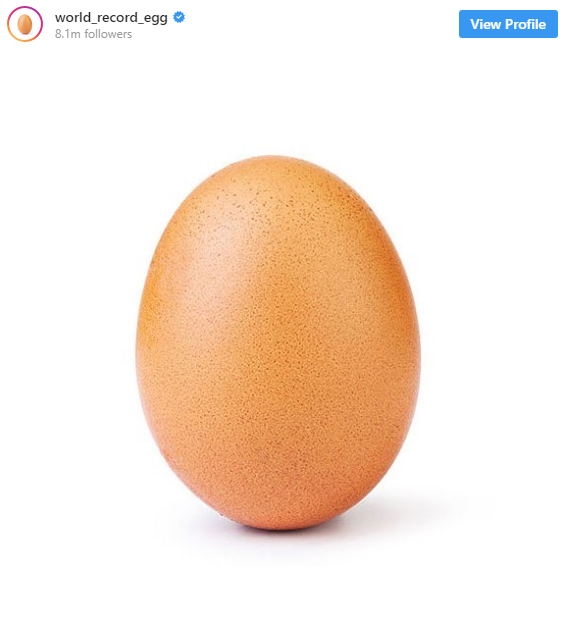 تخم مرغ اینستاگرامی