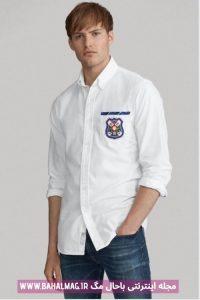 جدیدترین طرح پیراهن مردانه سفید