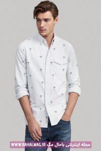 جدیدترین مدل پیراهن سفید مردانه
