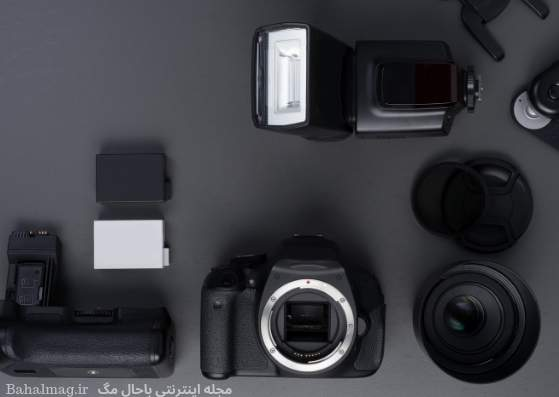 دوربین عکاسی با تم سیاه
