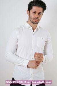 مدل جدید پیراهن سفید مردانه