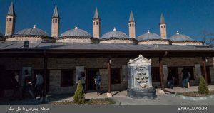 موزه-مولانا-حیاط
