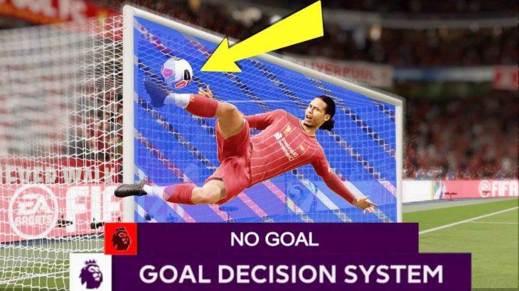 ویدیوی دیدنی از تکنولوژی خط دروازه در بازی FIFA 20