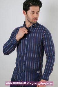 پیراهن جدید مردانه راه راه