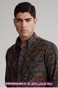 پیراهن جدید مردانه مشکی