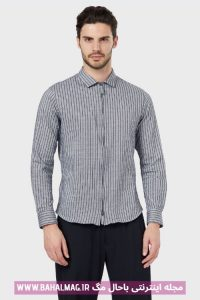 پیراهن راه راه مردانه جدید