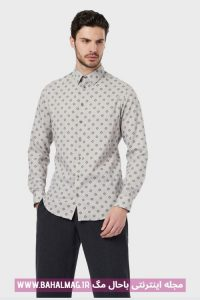 پیراهن ساده مردانه جدید و شیک
