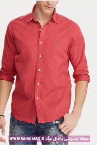 پیراهن مردانه جدید قرمز
