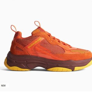 کفش اسپرت دخترانه نارنجی