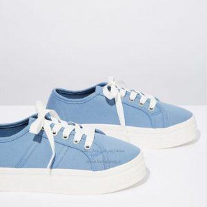 کفش اسپرت زنانه آبی
