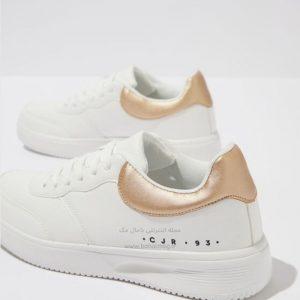کفش اسپرت سفید دخترانه