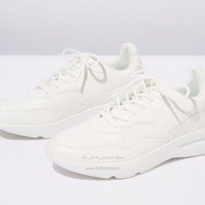 کفش اسپرت سفید زنانه