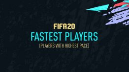 سریعترین بازیکنان فیفا ۲۰