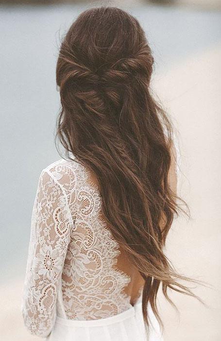 مدل موی بلند عروس