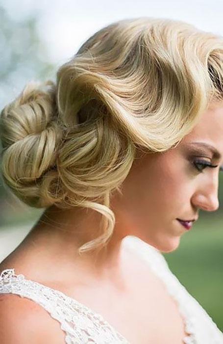 مدل موی روشن و ساده عروس