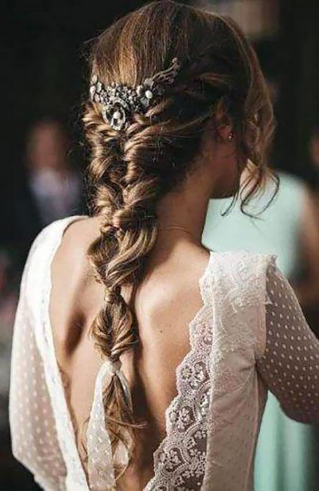 مدل موی لاکچری عروس