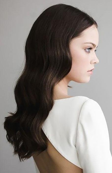 مدل موی کشیده عروس