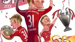 کاریکاتور زیبا به مناسبت خداحافظی Schweinsteiger