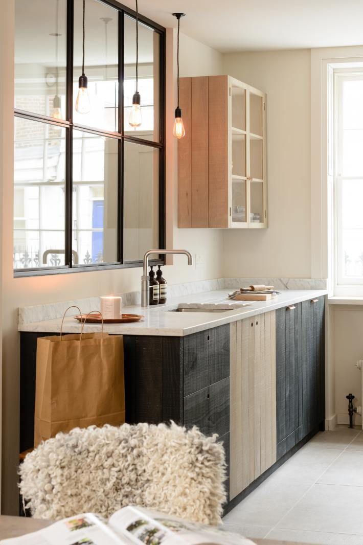 آشپزخانه زیبا با تم و طراحی زیبا