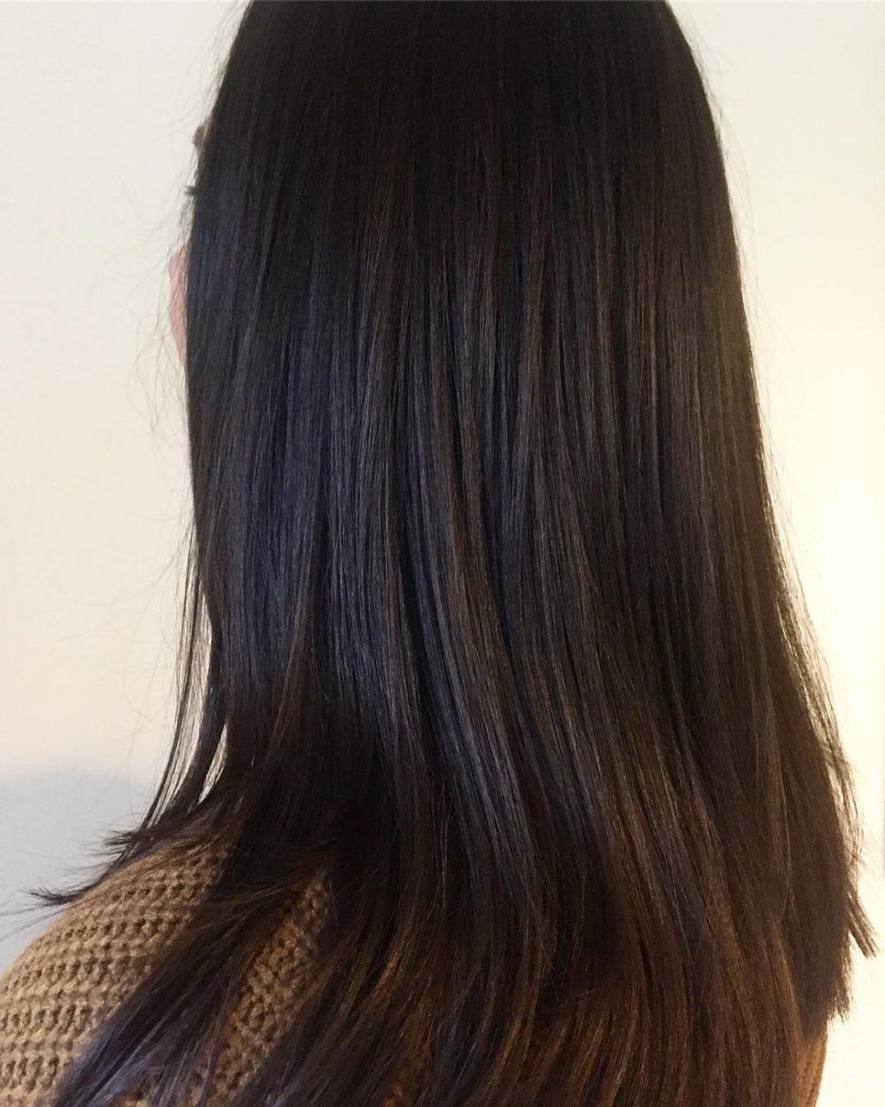 جدید ترین مدل رنگ موی تیره