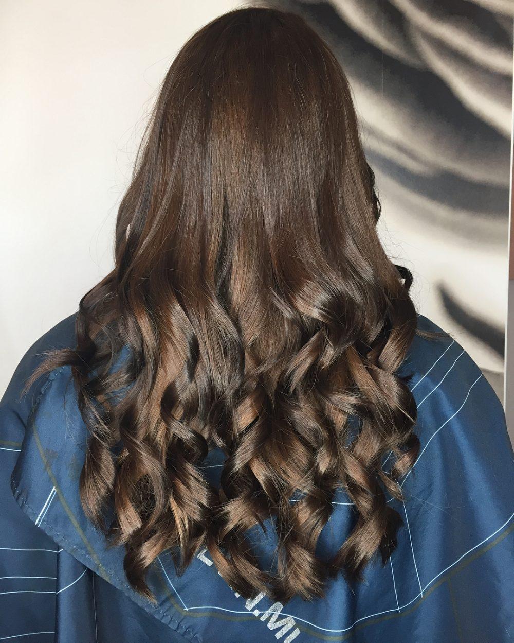 خاص ترین مدل رنگ موی تیره