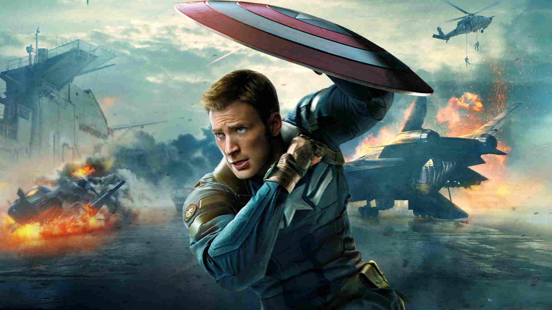 فیلم کریس کاپیتان آمریکا