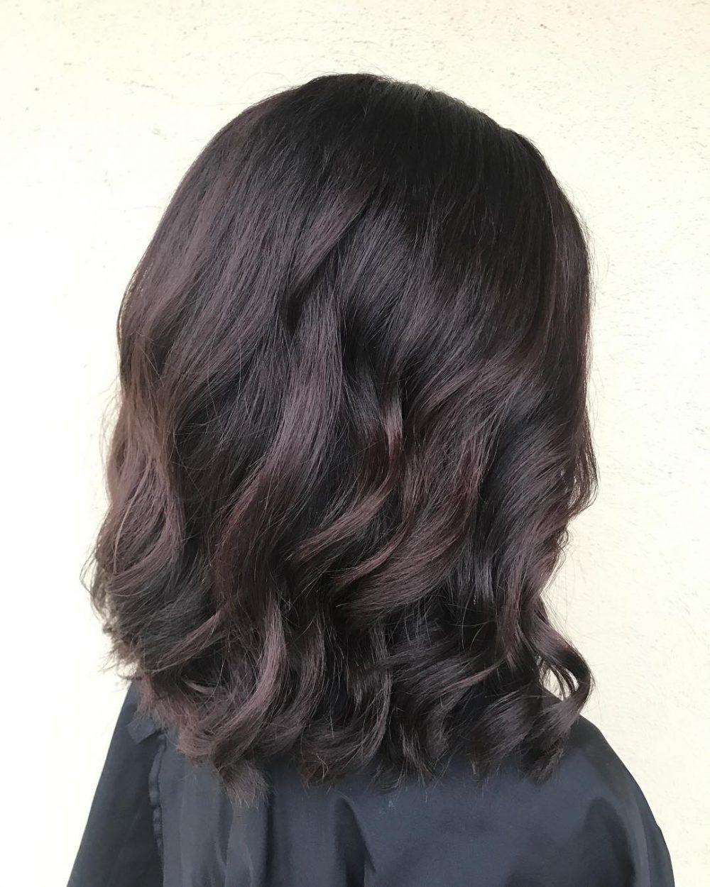 متفاوت ترین مدل رنگ موی تیره