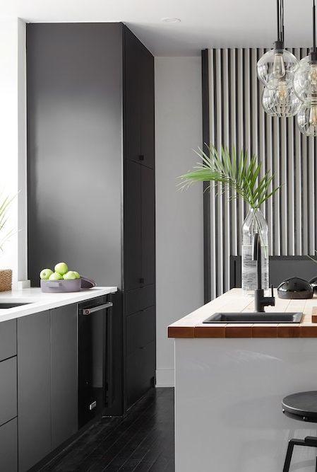 مدل رنگ زیبای خاص و مدرن برای طراحی داخلی آشپزخانه