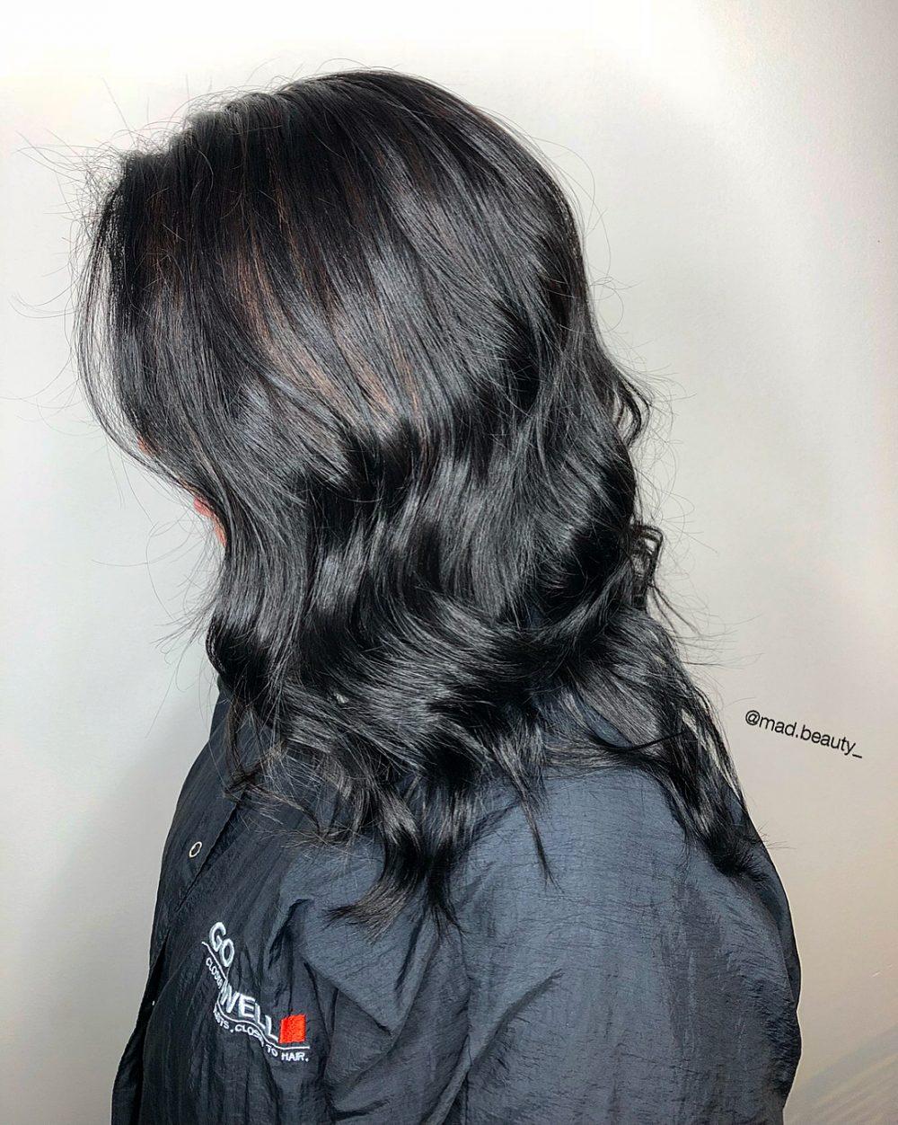 مدل رنگ موی تیره مخصوص امسال