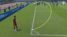 ویدیو آموزش گل کردن کرنر به صورت مستقیم در FIFA 2020
