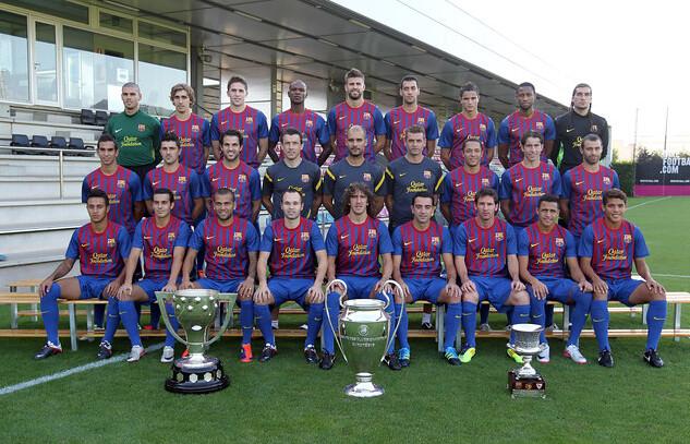 افتخارات بارسلونا در سال 2011