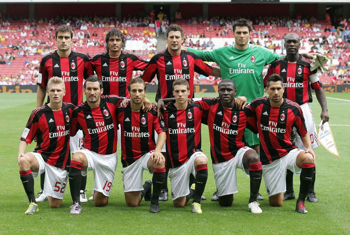 بازیکنان میلان 2011