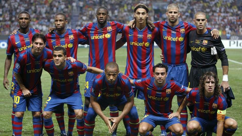 ترکیب 2009 بارسا
