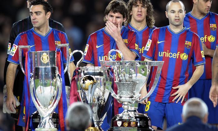 جام های بارسلونا در سال 2009