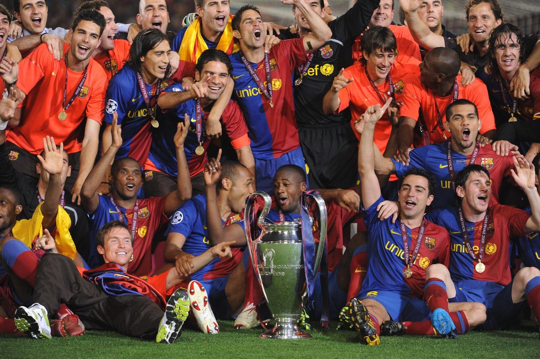 جشن قهرمانی 2009 بارسلونا