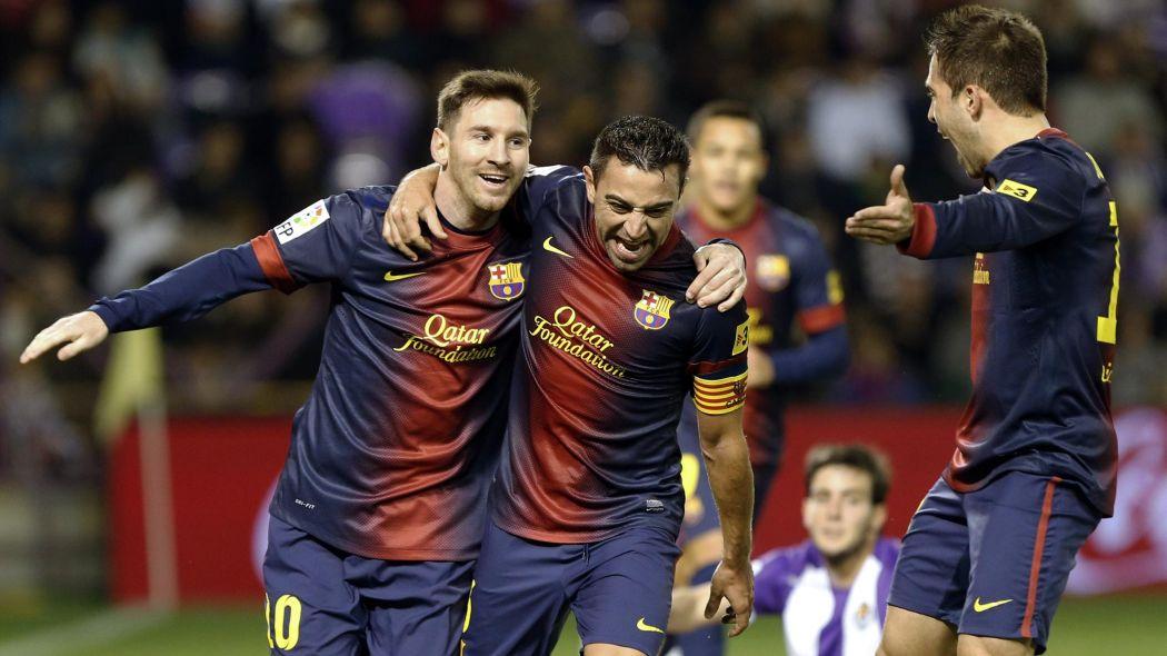 خوشحالی بارسلونا 2012