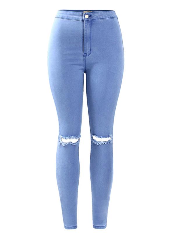 شلوار جین پاره مخصوص سال 2020 دخترانه و زنانه