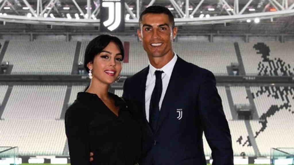 عکس خاص رونالدو در لباس یوونتوس و همسرش جورجینا
