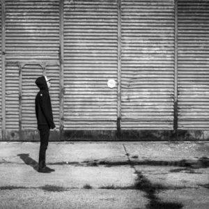عکس سیاه و سفید پروفایل غمگین مردونه
